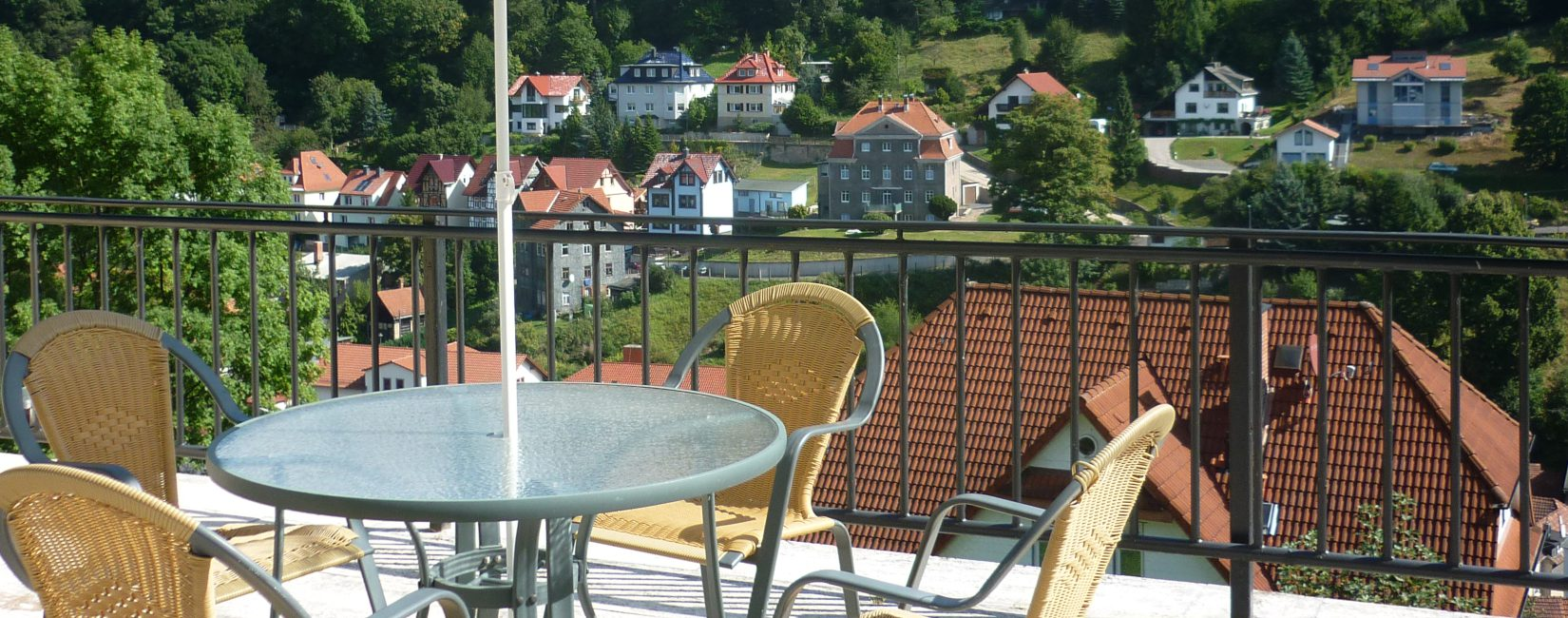 Terrasse Hotel Ruhla